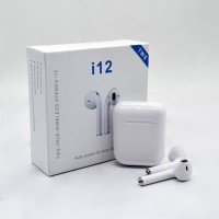 i12 TWS Airpod True Wireless Bluetooth Headset 5.0 Touch Control Sports Earbuds Headphone