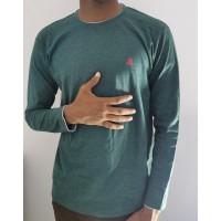 T shert for men Green color