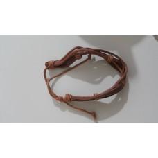 Leather bracelet