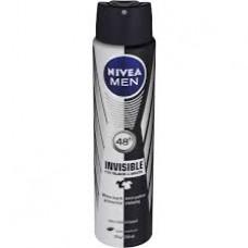 NIVEA spray for men black and white